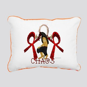 Chaos Set Rectangular Canvas Pillow